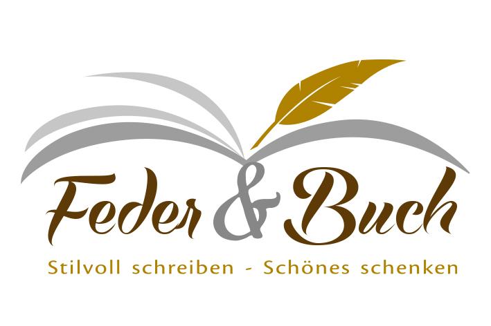 Feder und Buch